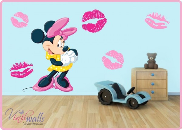 Vinilo decorativo Minnie Mouse